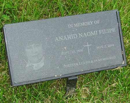 FILIPE, ANAHID NAOMI - Montgomery County, Ohio | ANAHID NAOMI FILIPE - Ohio Gravestone Photos