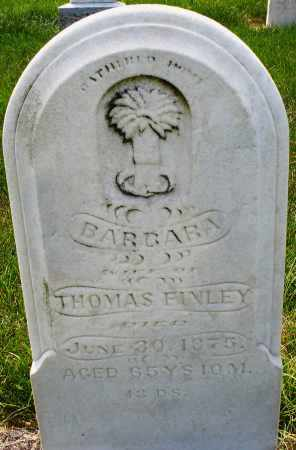 FINLEY, BARBARA - Montgomery County, Ohio | BARBARA FINLEY - Ohio Gravestone Photos