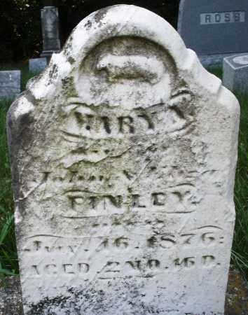 FINLEY, MARY - Montgomery County, Ohio | MARY FINLEY - Ohio Gravestone Photos