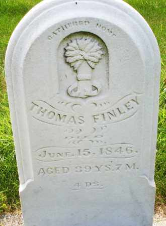 FINLEY, THOMAS - Montgomery County, Ohio | THOMAS FINLEY - Ohio Gravestone Photos