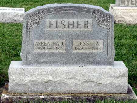 FISHER, JESSE A. - Montgomery County, Ohio | JESSE A. FISHER - Ohio Gravestone Photos