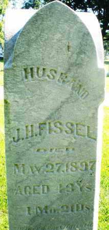 FISSEL, J.H. - Montgomery County, Ohio | J.H. FISSEL - Ohio Gravestone Photos
