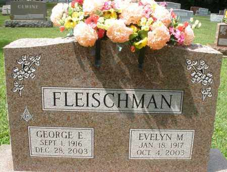 FLEISCHMAN, GEORGE E. - Montgomery County, Ohio | GEORGE E. FLEISCHMAN - Ohio Gravestone Photos