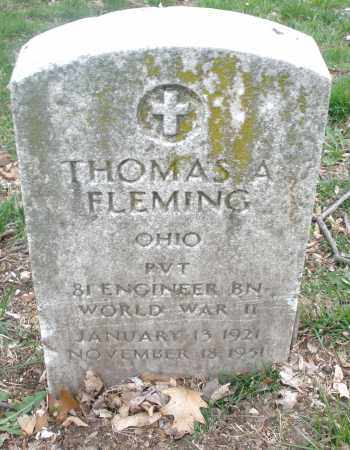 FLEMING, THOMAS A. - Montgomery County, Ohio | THOMAS A. FLEMING - Ohio Gravestone Photos