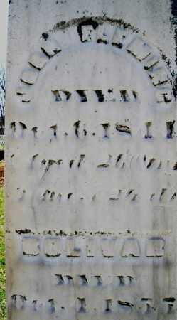 FLEMIRG ?, JOHN - Montgomery County, Ohio | JOHN FLEMIRG ? - Ohio Gravestone Photos