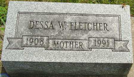 PROUTY FLETCHER, DESSA WANITA - Montgomery County, Ohio | DESSA WANITA PROUTY FLETCHER - Ohio Gravestone Photos