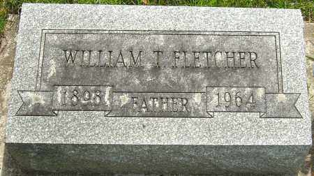 FLETCHER, WILLIAM T - Montgomery County, Ohio | WILLIAM T FLETCHER - Ohio Gravestone Photos