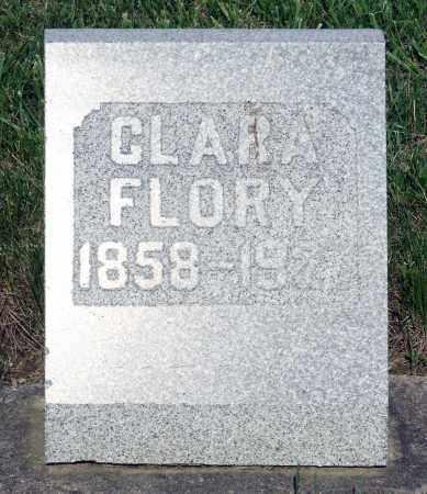 FLORY, CLARA - Montgomery County, Ohio | CLARA FLORY - Ohio Gravestone Photos