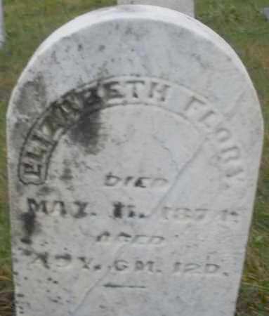 FLORY, ELIZABETH - Montgomery County, Ohio | ELIZABETH FLORY - Ohio Gravestone Photos