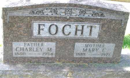 FOCHT, MARY C. - Montgomery County, Ohio | MARY C. FOCHT - Ohio Gravestone Photos
