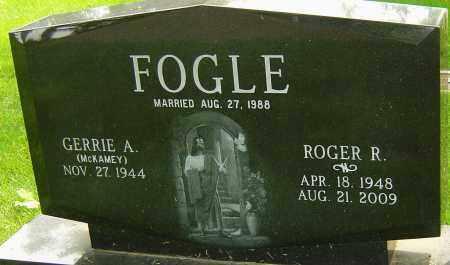 FOGLE, ROGER R - Montgomery County, Ohio | ROGER R FOGLE - Ohio Gravestone Photos
