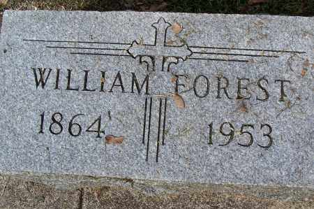 FOREST, WILLIAM - Montgomery County, Ohio | WILLIAM FOREST - Ohio Gravestone Photos