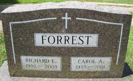 FORREST, RICHARD E. - Montgomery County, Ohio | RICHARD E. FORREST - Ohio Gravestone Photos