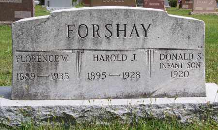FORSHAY, FLORENCE W. - Montgomery County, Ohio | FLORENCE W. FORSHAY - Ohio Gravestone Photos