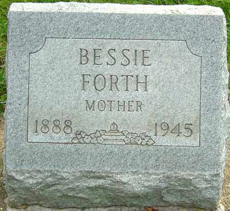 MOON FORTH, BESSIE MADGE - Montgomery County, Ohio | BESSIE MADGE MOON FORTH - Ohio Gravestone Photos