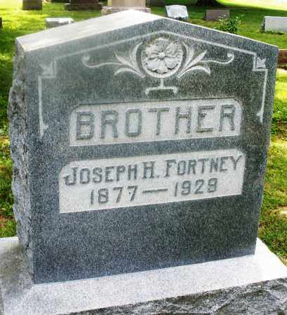 FORTNEY, JOSEPH H. - Montgomery County, Ohio | JOSEPH H. FORTNEY - Ohio Gravestone Photos