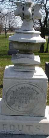 FOUTS, AARON - Montgomery County, Ohio | AARON FOUTS - Ohio Gravestone Photos