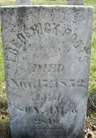 FOUTS, FREDERICK - Montgomery County, Ohio | FREDERICK FOUTS - Ohio Gravestone Photos