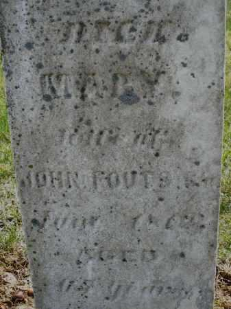 FOUTS, MARY - Montgomery County, Ohio | MARY FOUTS - Ohio Gravestone Photos