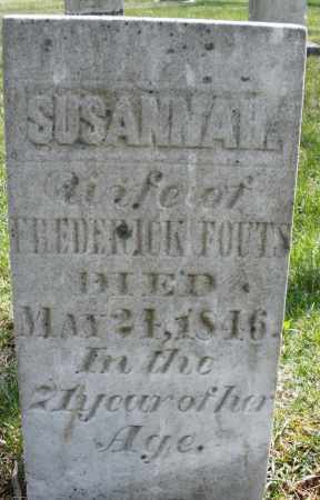 FOUTS, SUSANNAH - Montgomery County, Ohio | SUSANNAH FOUTS - Ohio Gravestone Photos