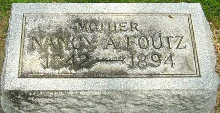 FOUTZ, NANCY A - Montgomery County, Ohio | NANCY A FOUTZ - Ohio Gravestone Photos