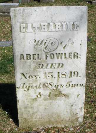 FOWLER, CATHARINE - Montgomery County, Ohio | CATHARINE FOWLER - Ohio Gravestone Photos