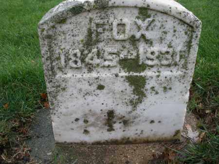 FOX, MARTHA - Montgomery County, Ohio | MARTHA FOX - Ohio Gravestone Photos