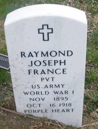 FRANCE, RAYMOND JOSEPH - Montgomery County, Ohio | RAYMOND JOSEPH FRANCE - Ohio Gravestone Photos