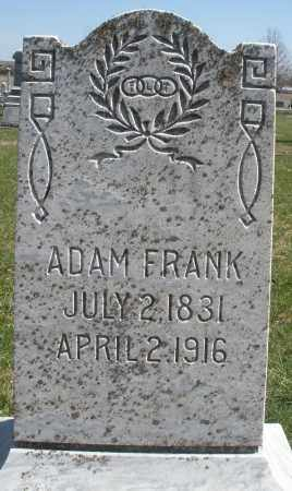 FRANK, ADAM - Montgomery County, Ohio | ADAM FRANK - Ohio Gravestone Photos