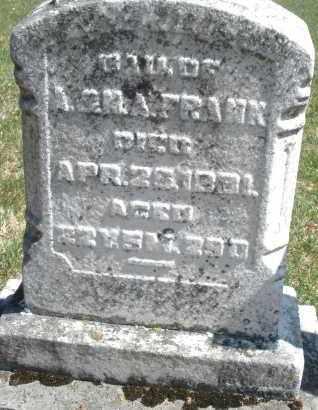 FRANK, DAUGHTER - Montgomery County, Ohio   DAUGHTER FRANK - Ohio Gravestone Photos