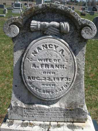 FRANK, NANCY A. - Montgomery County, Ohio | NANCY A. FRANK - Ohio Gravestone Photos