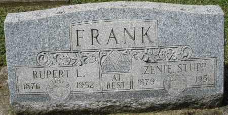 FRANK, RUPERT L. - Montgomery County, Ohio | RUPERT L. FRANK - Ohio Gravestone Photos