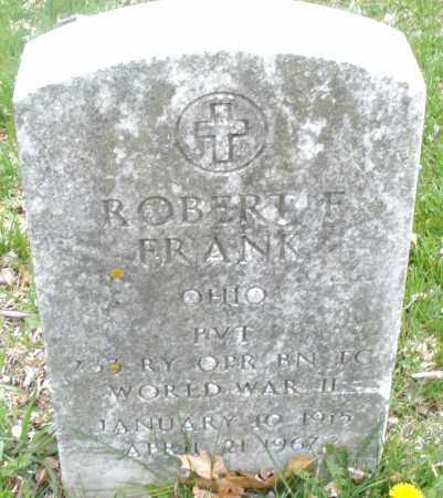 FRANK, ROBERT F. - Montgomery County, Ohio | ROBERT F. FRANK - Ohio Gravestone Photos