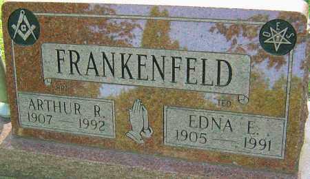 FRANKENFELD, EDNA E - Montgomery County, Ohio | EDNA E FRANKENFELD - Ohio Gravestone Photos