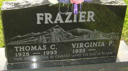 FRAZIER, THOMAS C - Montgomery County, Ohio | THOMAS C FRAZIER - Ohio Gravestone Photos