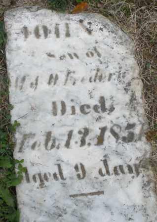 FREDERICK ?, JOHN INFANT - Montgomery County, Ohio | JOHN INFANT FREDERICK ? - Ohio Gravestone Photos