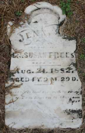 FREES, JENNY - Montgomery County, Ohio | JENNY FREES - Ohio Gravestone Photos