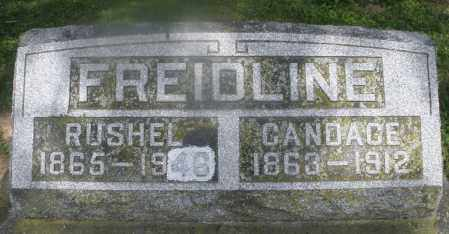 FREIDLINE, RUSHEL - Montgomery County, Ohio | RUSHEL FREIDLINE - Ohio Gravestone Photos