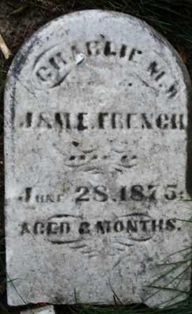 FRENCH, CHARLIE - Montgomery County, Ohio | CHARLIE FRENCH - Ohio Gravestone Photos