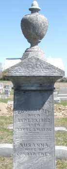 FREY, SUSANNA - Montgomery County, Ohio | SUSANNA FREY - Ohio Gravestone Photos