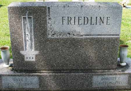 FRIEDLINE, DOROTHY C. - Montgomery County, Ohio | DOROTHY C. FRIEDLINE - Ohio Gravestone Photos