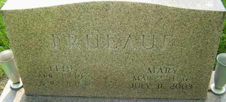 FRUEAUF, MARY - Montgomery County, Ohio | MARY FRUEAUF - Ohio Gravestone Photos