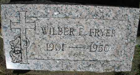 FRYER, WILBER E. - Montgomery County, Ohio | WILBER E. FRYER - Ohio Gravestone Photos
