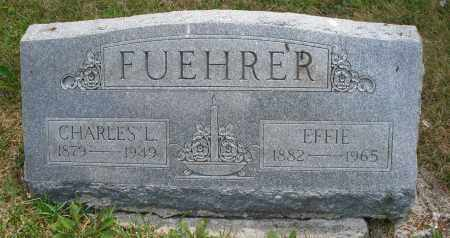 FUEHRER, EFFIE - Montgomery County, Ohio | EFFIE FUEHRER - Ohio Gravestone Photos