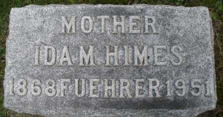 HIMES FUEHRER, IDA M. - Montgomery County, Ohio | IDA M. HIMES FUEHRER - Ohio Gravestone Photos