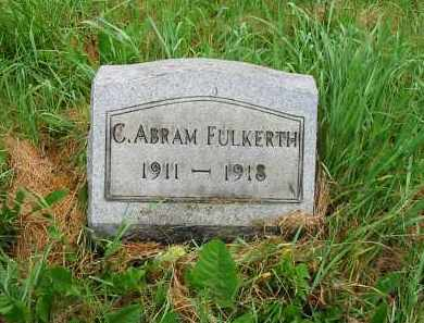 FULKERTH, CHARLES ABRAM - Montgomery County, Ohio | CHARLES ABRAM FULKERTH - Ohio Gravestone Photos