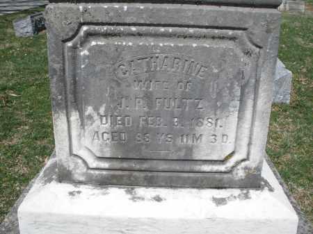 FULTZ, CATHARINE - Montgomery County, Ohio | CATHARINE FULTZ - Ohio Gravestone Photos