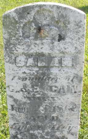 GAIN, SARAH - Montgomery County, Ohio | SARAH GAIN - Ohio Gravestone Photos