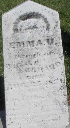 GARARD, EMMA - Montgomery County, Ohio | EMMA GARARD - Ohio Gravestone Photos