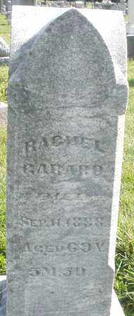 GARARD, RACHEL - Montgomery County, Ohio | RACHEL GARARD - Ohio Gravestone Photos